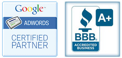AdWords Certified & A+ BBB